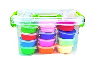 Magic Clay 24 Colored Clays and Tools with a carrying case