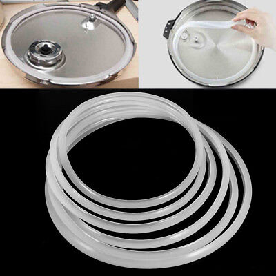 Newly Replacement Silicone Rubber Clear Gasket Sealing Ring Home Pressure Cooker