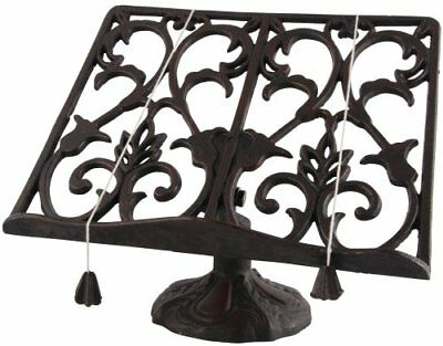 Fallen Fruits Cast Iron Cook Book Stand   - New/boxed