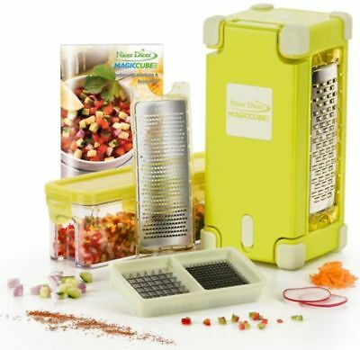 Genius® Nicer Dicer Magic Cube Gourmet, 9-teilig