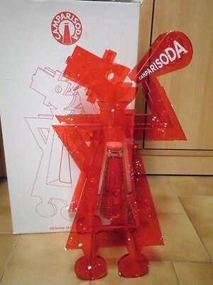 CAMPARI SODA Espositore 80 anni Bottiglia Depero Limited ADVERTISING PLEXIGLAS