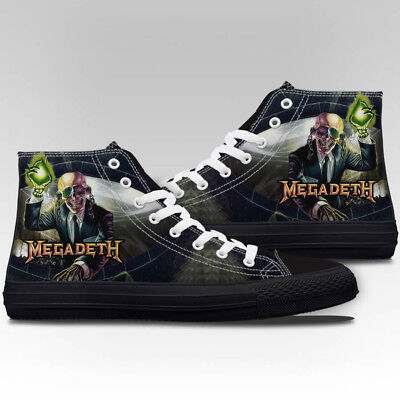Megadeth Rust in Peace CANVAS PRINT SHOES FASHION