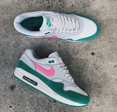 entrega solar Descompostura  NIKE AIR MAX 1 Watermelon / South Beach - Green - Grey - Pink - UNISEX 106  - EUR 388,69 | PicClick FR