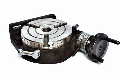 "4 ""ROTARY TABLE MIT MT-2 Bohrung 3 SLOTS."