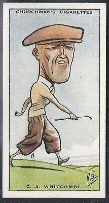Churchman-Prominent Golf Ers (Standard Size)-#47- Charles Whitcombe