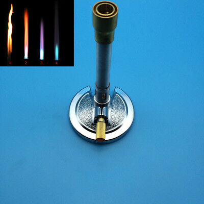 Safety Medical Laboratory energy-saving Bunsen Burner Made Of Alloy and Brass