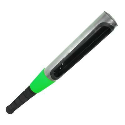 High Quality Baseball Bat Steering Wheel Security Lock Anti-theft Green