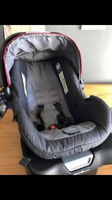 Eddie Bauer Alpine 3 Car Seat with infant head rest With Canopy