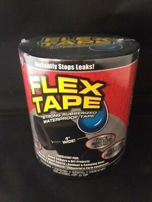 Flex Tape Waterproof Tape  4 x 5' Black