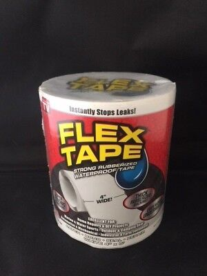 Flex Tape Waterproof Tape  4 x 5' WHITE