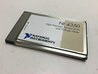 National Instruments NI 4350 High-Precision Temperature and Voltage Meter Card
