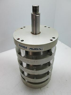 """Bimba FO4-1250 75 Air Cylinder, 4-Stage Extend Single-Stage Retract, Bore: 4"""""""