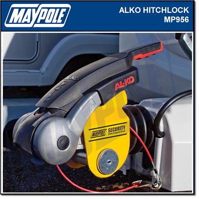 Maypole Hitch Lock For Alko Hitches Caravan & Trailer Insurance Approved MP956