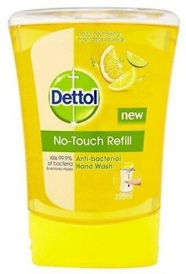 No-Touch Refill Anti-Bacterial Hand Wash by Dettol, 250ml - Citrus