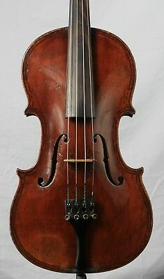 Interesting old antique 4/4 Violin Label Paolo Maggini Brescia  Graft Polished