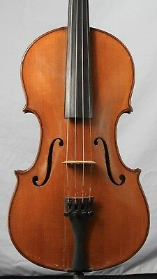 Vintage old antique 4/4 Violin German Lowendall Domincus Montagnana