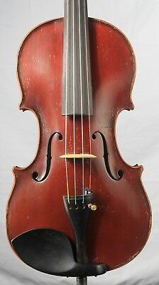 Vintage old antique 4/4 Fine Violin American Harwood Master Art Amati    KV002