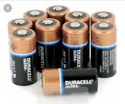 Zoll AED Plus Batteries (Pack of 10 Duracell)