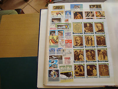 MIDDLE EAST - 40 stamps canceled (all state) stamp