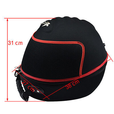 Helmet Bag Carrying Case Holder Backpack Full Face Open Face Motorcycle