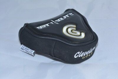 NEW Cleveland Smart Square putter mallet black men's headcover head cover