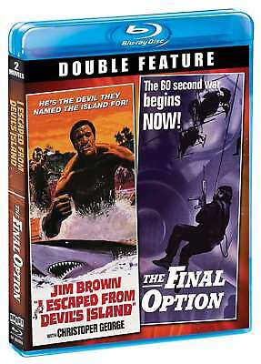 New: I ESCAPED FROM DEVILS ISLAND/THE FINAL OPTION - Blu-ray