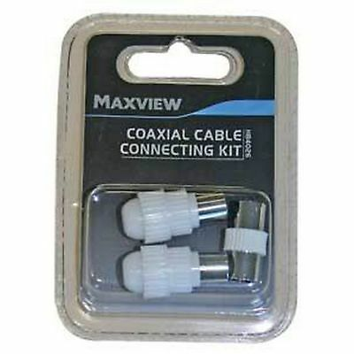 Maxview TV/FM Coaxial Cable Connecting Kit (MD866)
