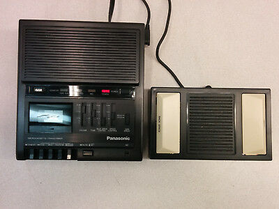 Panasonic RR-930 Microcassette Transcriber with foot pedal