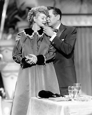 """Lucille Ball And Desi Arnaz In """"I Love Lucy"""" - 8X10 Quality Photo Print"""