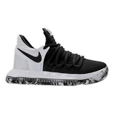 e4862da2741 BOYS  GRADE SCHOOL Nike Zoom KDX Basketball Shoes Black White 918365 ...