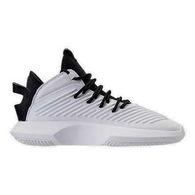 official photos 3da63 33ed6 Mens adidas Crazy 1 ADV Basketball Shoes BlackWhiteHi Res Green AQ0320  BWG