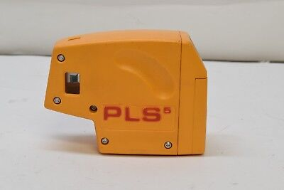 Pacific Laser Systems PLS 5 Plumb and Sqaure 5-Point Red Dot Level - GUARANTEED!