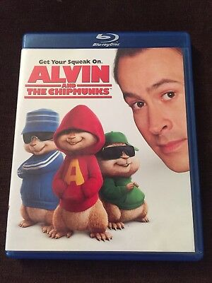 Alvin and the Chipmunks (Blu-ray Disc, 2009 Jason Lee