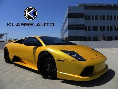2004 Lamborghini Murcielago  2004 Lamborghini Murcielago Coupe New Clutch Over $40k in Upgrades Amazing Car