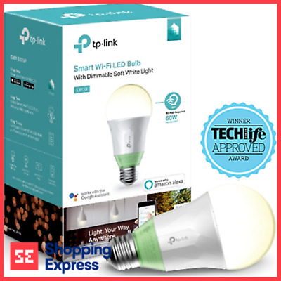 TP-Link LB110 Smart Wi-Fi APP Remote Control LED Bulb White Dimmable Light