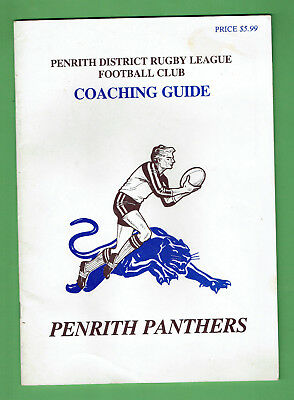 #t85. 1985  Penrith Panthers Rugby League  Coaching Guide