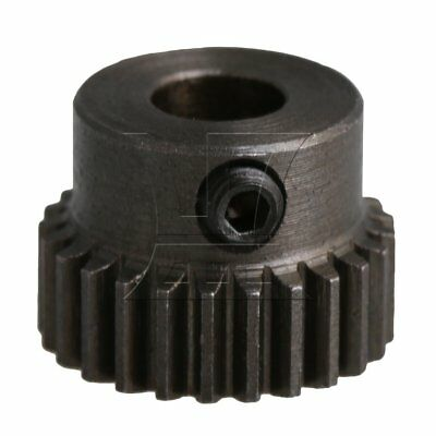 1.35x1cm 0.5 Modulus 25T Motor Pinion Wheel Gear 5mm Bore for RC Model