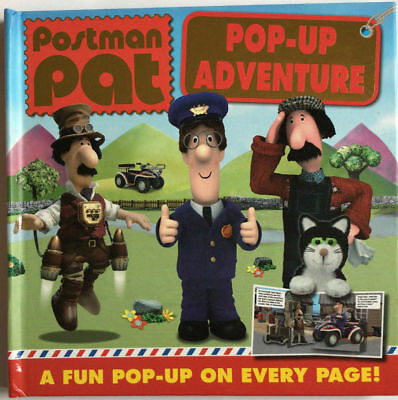 Postman Pat Party Pop Up Book with Fun Pop Up On Every Page Kids Ages 2+