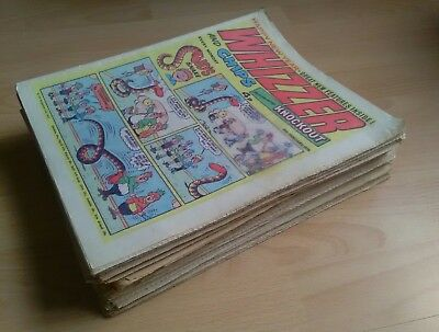 JOB LOT - 30 issues of Whizzer and Chips - 1974