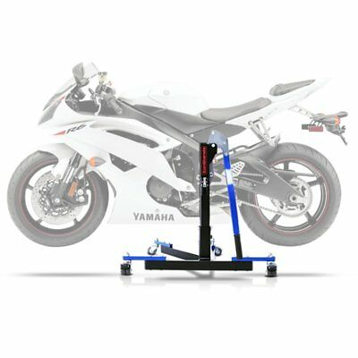 Center Spider Lift ConStands Power Evo Yamaha YZF-R6 06-18 blue Centre