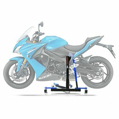 Center Spider Lift ConStands Power Evo Suzuki GSX-S 1000 F 15-18 blue Centre
