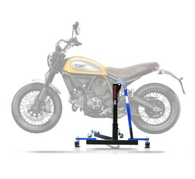 Center Spider Lift ConStands Power Evo Ducati Scrambler 15-17 blue Centre