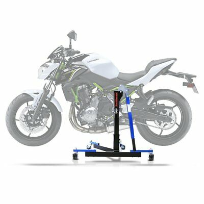 Center Stand CS Power Evo Kawasaki Z 650 17-18 Lift Centre blue