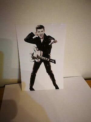 JOHNNY HALLYDAY   Photo N/B