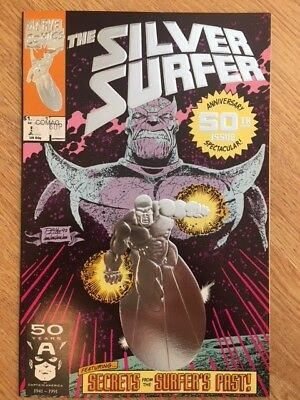 Silver Surfer #50 NM 50th Anniversary Issue Spectacular Marvel Comics Foil