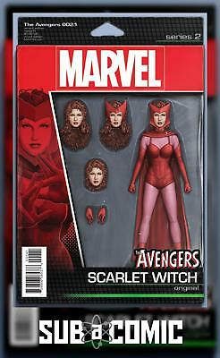 AVENGERS #2.1 CHRISTOPHER ACTION FIGURE VARIANT (MARVEL 2016 1st Print) COMIC