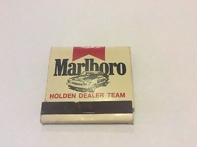 Vintage Marlboro Holden Dealer Team Match Book
