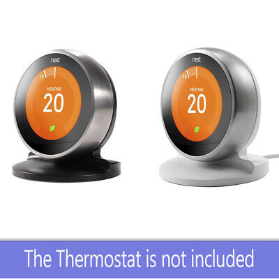 Black 3rd 2nd Generation EEEKit Stand Holder//Bracket for Nest Learning Thermostat