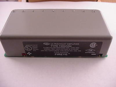 Fireye 72DUVS4 D-Series amp. UV Self Check Ships on the Same Day of the Purchase