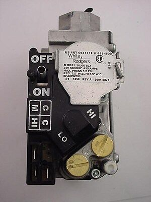 White Rodgers 36J56-503 Gas Valve 24 volt Ships on The Same Day of The Purchase